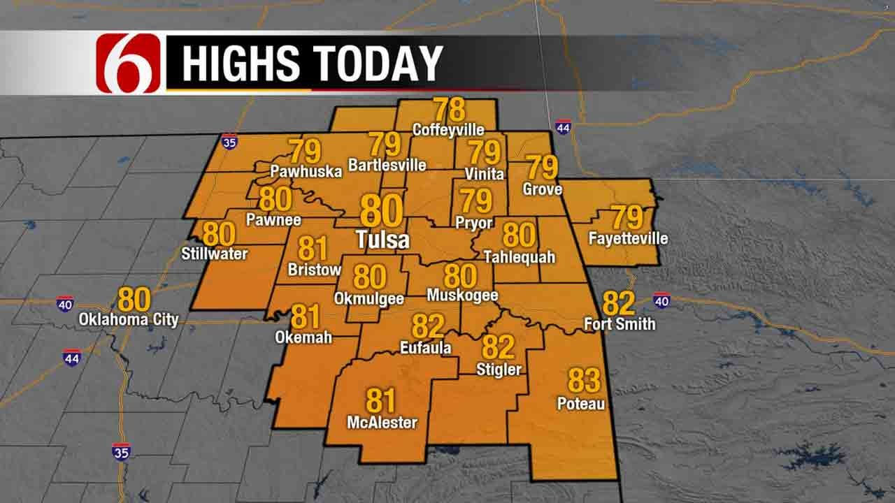 Warm Weather Pattern Remains In Northeast Oklahoma