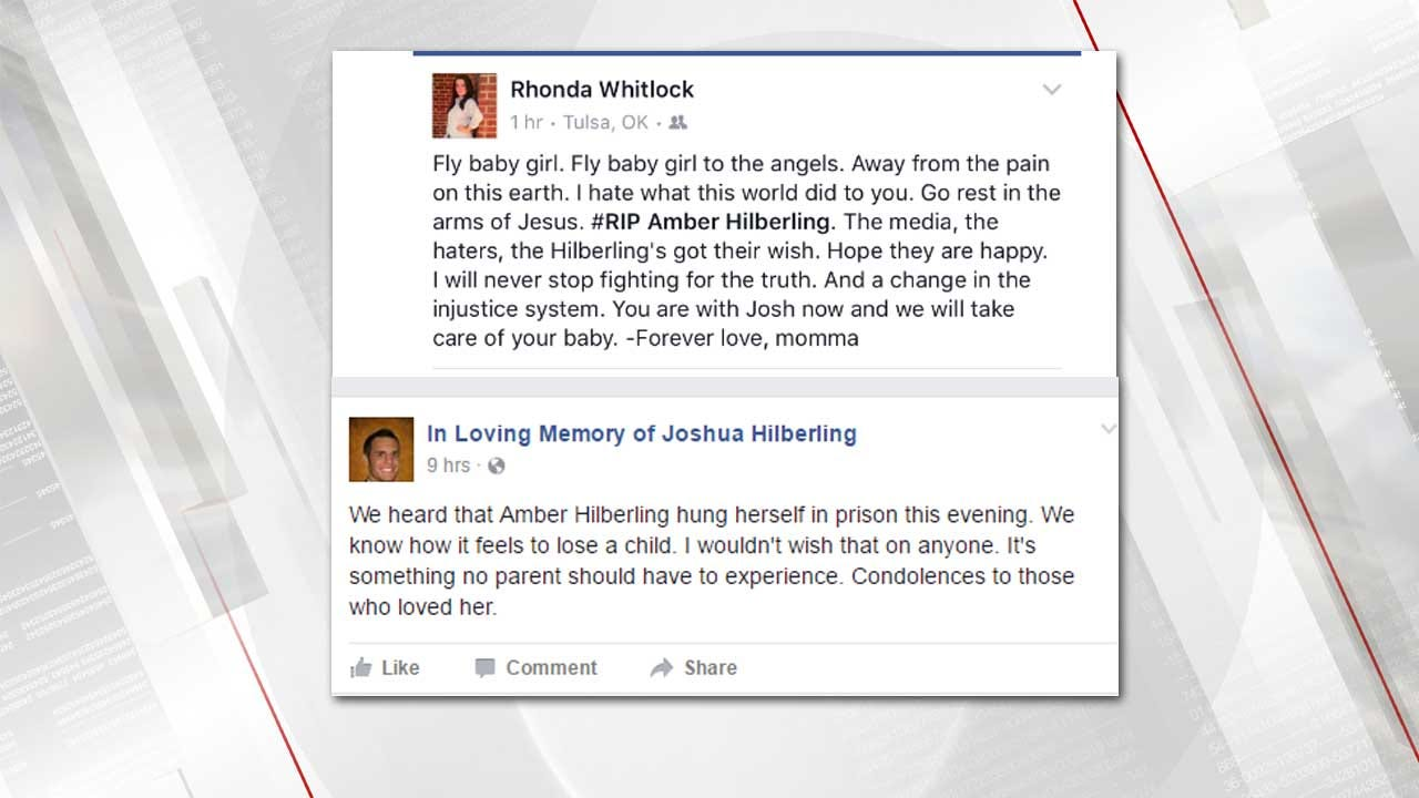 Families React To Amber Hilberling's Prison Death