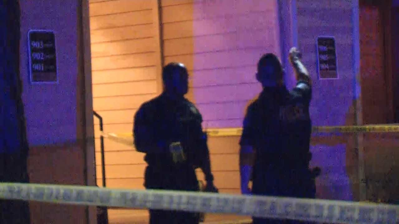 Man Shot In Head At Tulsa Apartment Complex