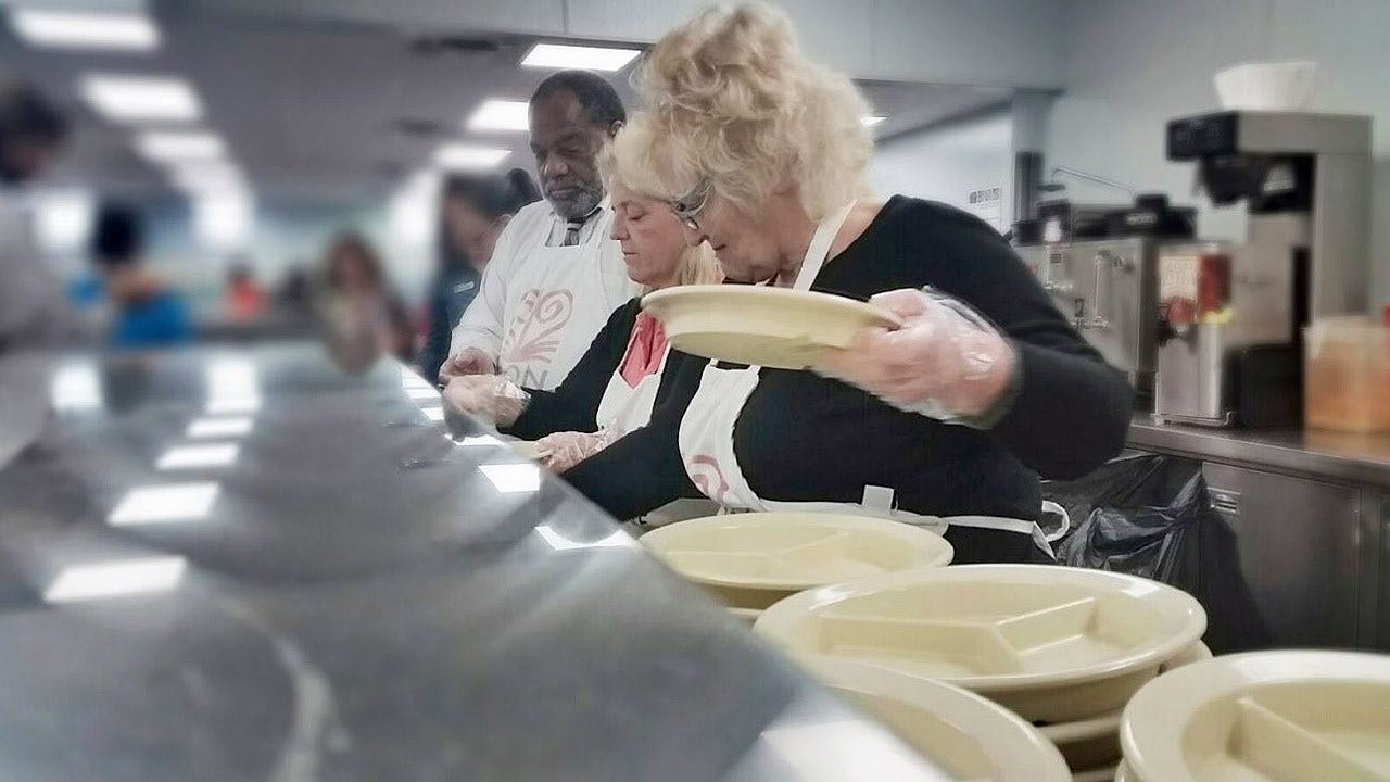 Tulsa City Councilors Serve Meals At Iron Gate