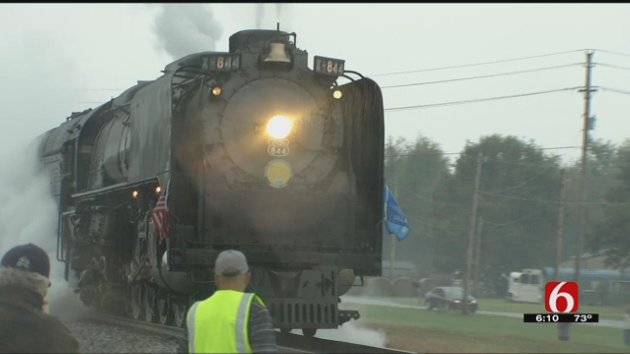 Union Pacific's Steam Engine 844 Makes Stops In Oklahoma
