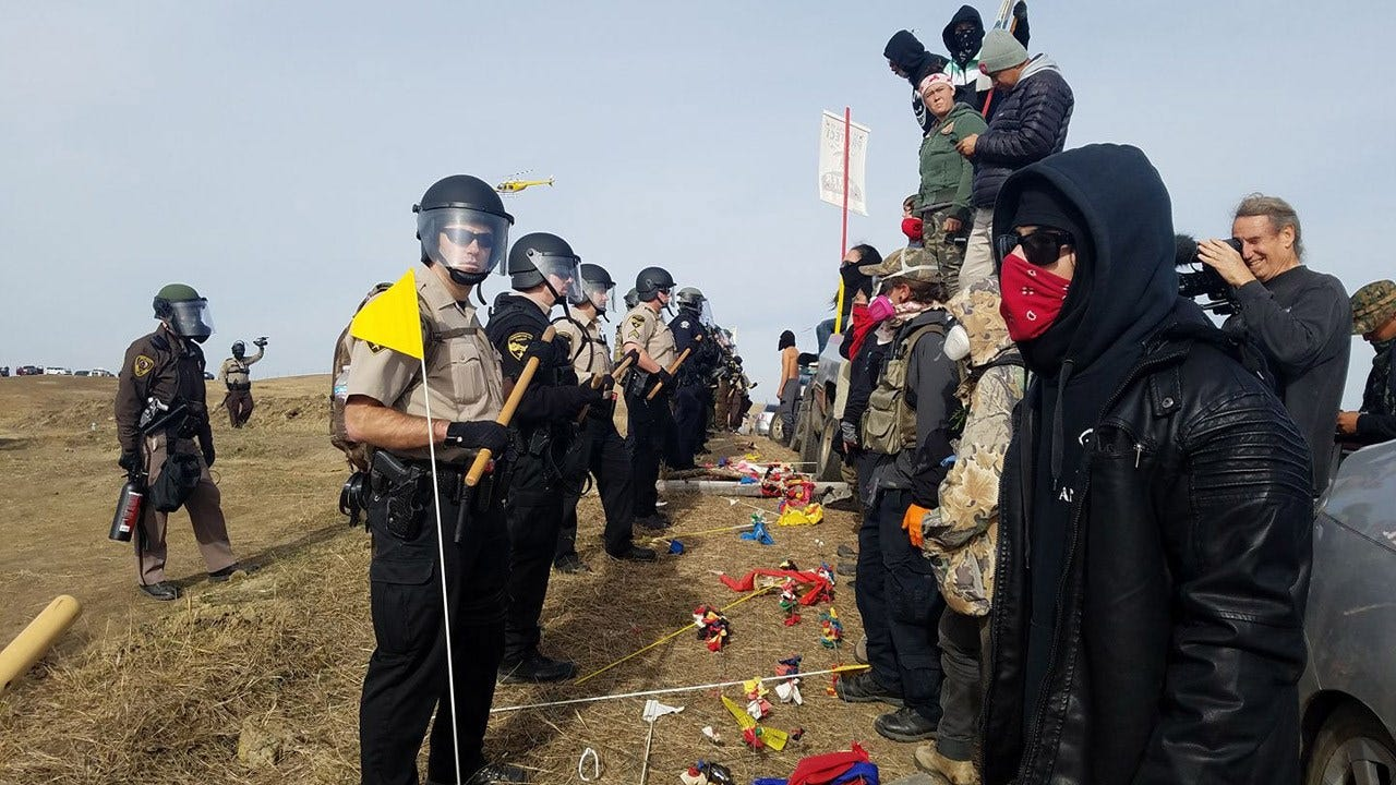 Authorities Move In To Remove Standing Rock Protestors