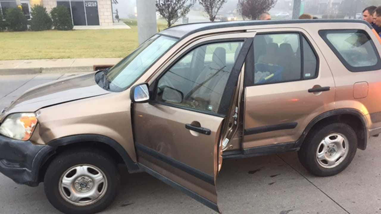 TCSO: Tulsa Driver Hallucinating During Hit-And-Run Crashes