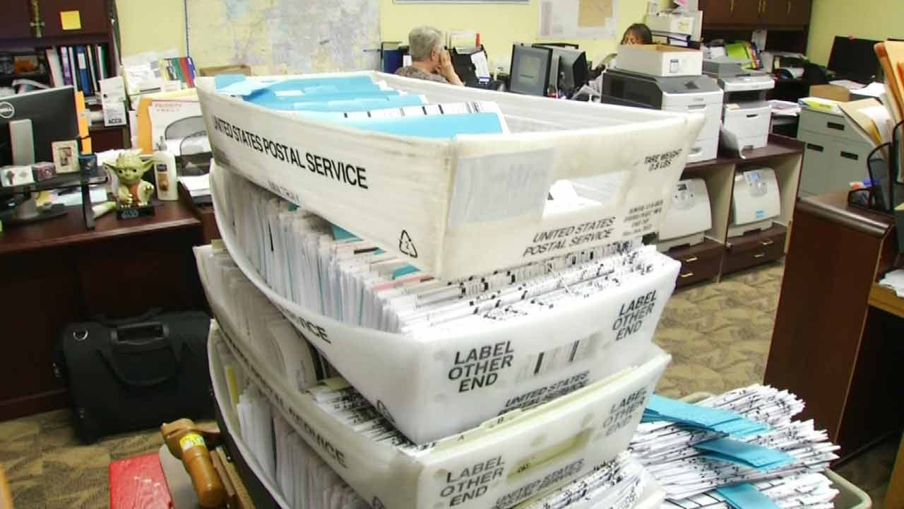 Tulsa County Election Officials Expect High Turnout For Early Voting