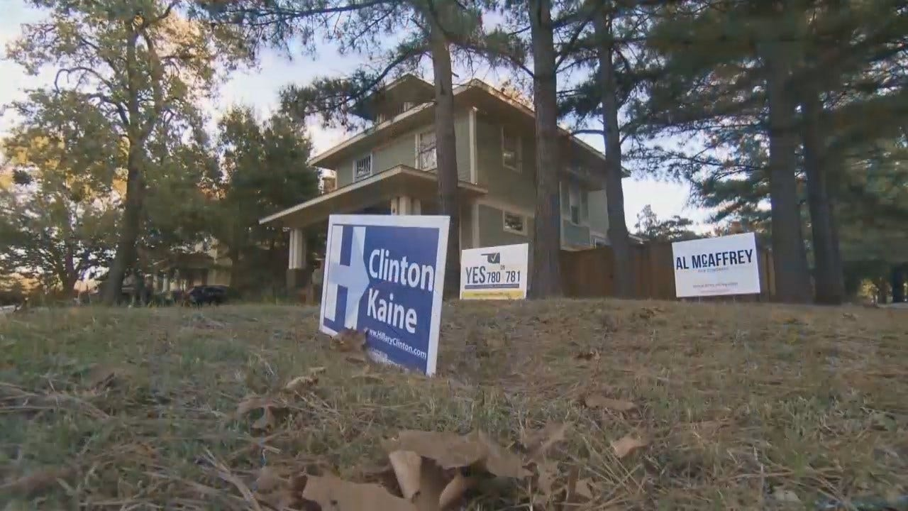 Oklahoma Voters On The Sidelines This Presidential Election, Again