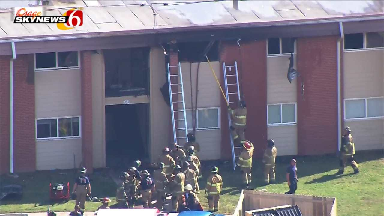 One Injured In Tulsa Apartment Fire