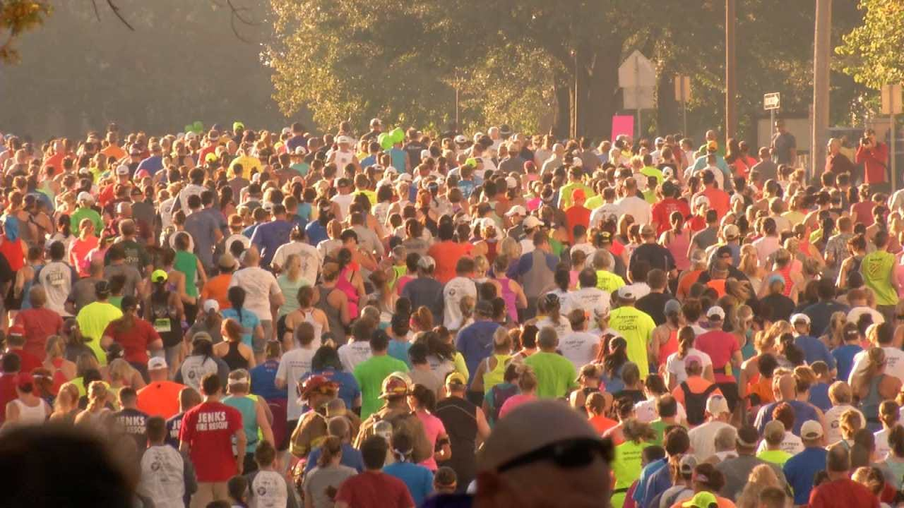 Runners Prepare For This Weekend's 2016 Tulsa Run