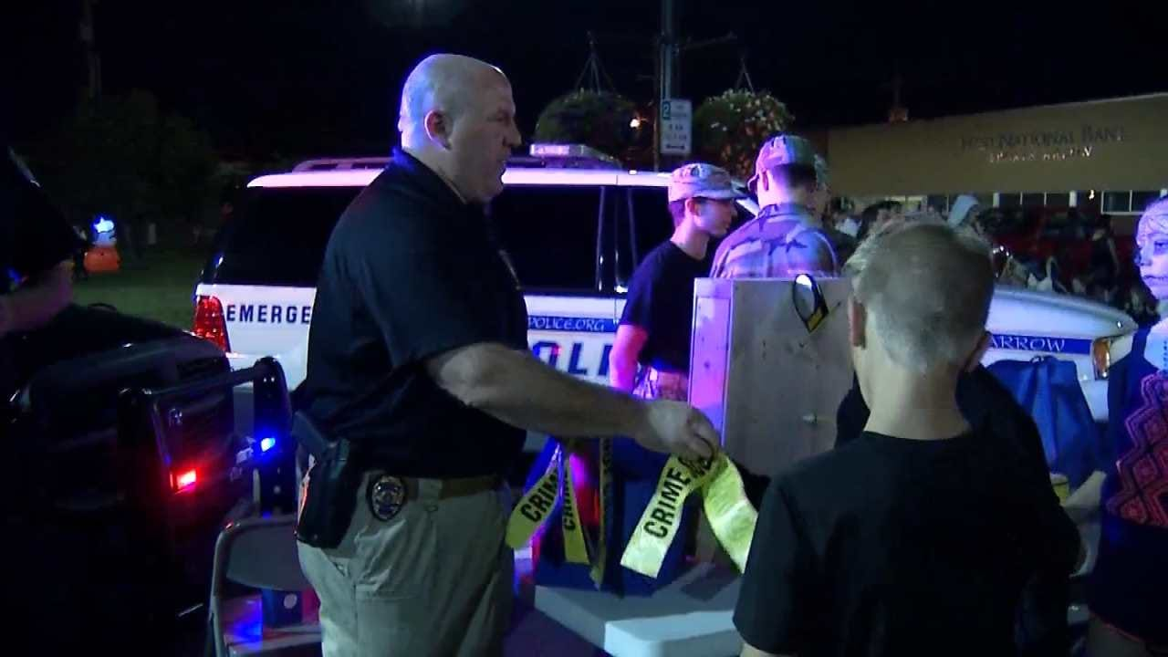 B.A. Night Out Against Crime Aims To Strengthen Police, Community Relations