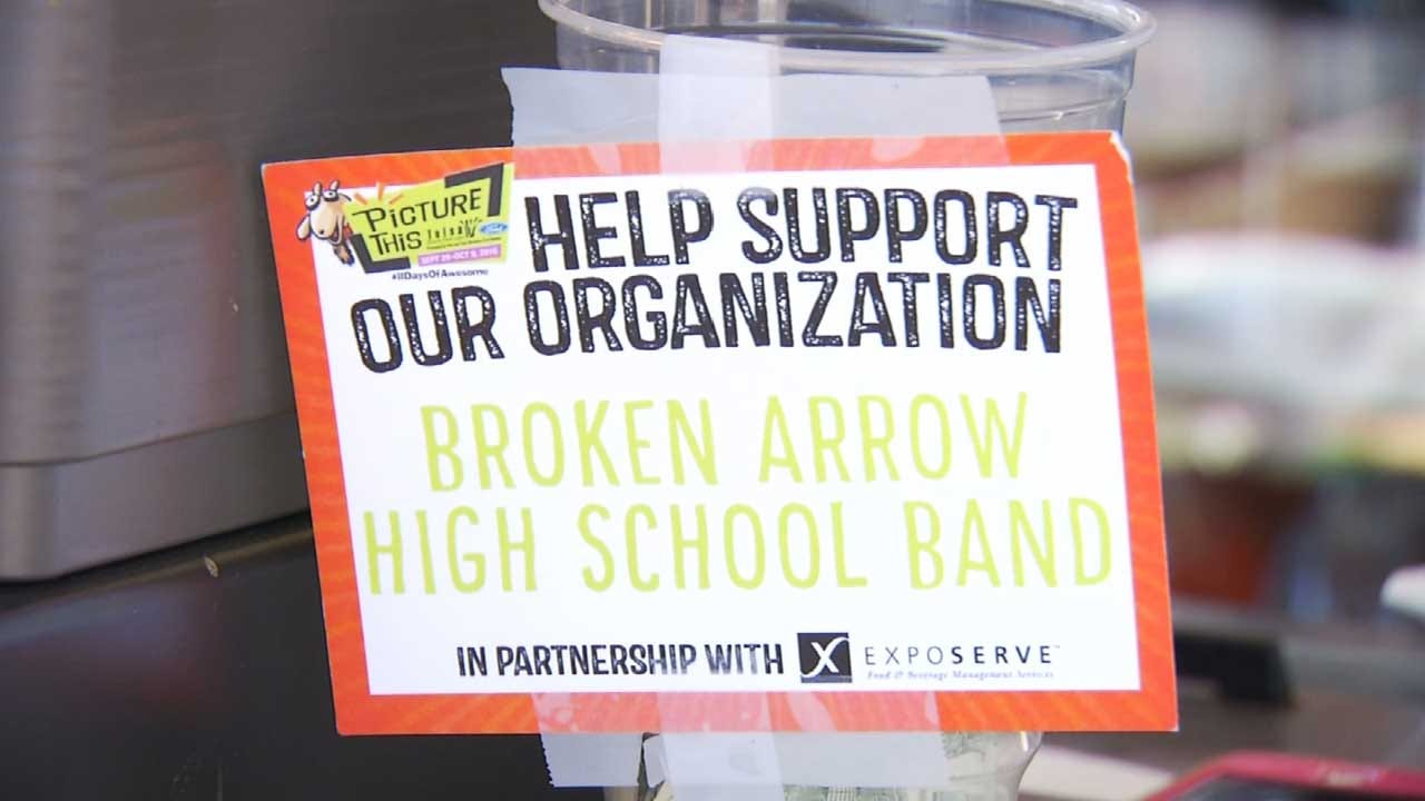 BA Parents Volunteer At Concession Booth To Help Send Band To Rose Parade