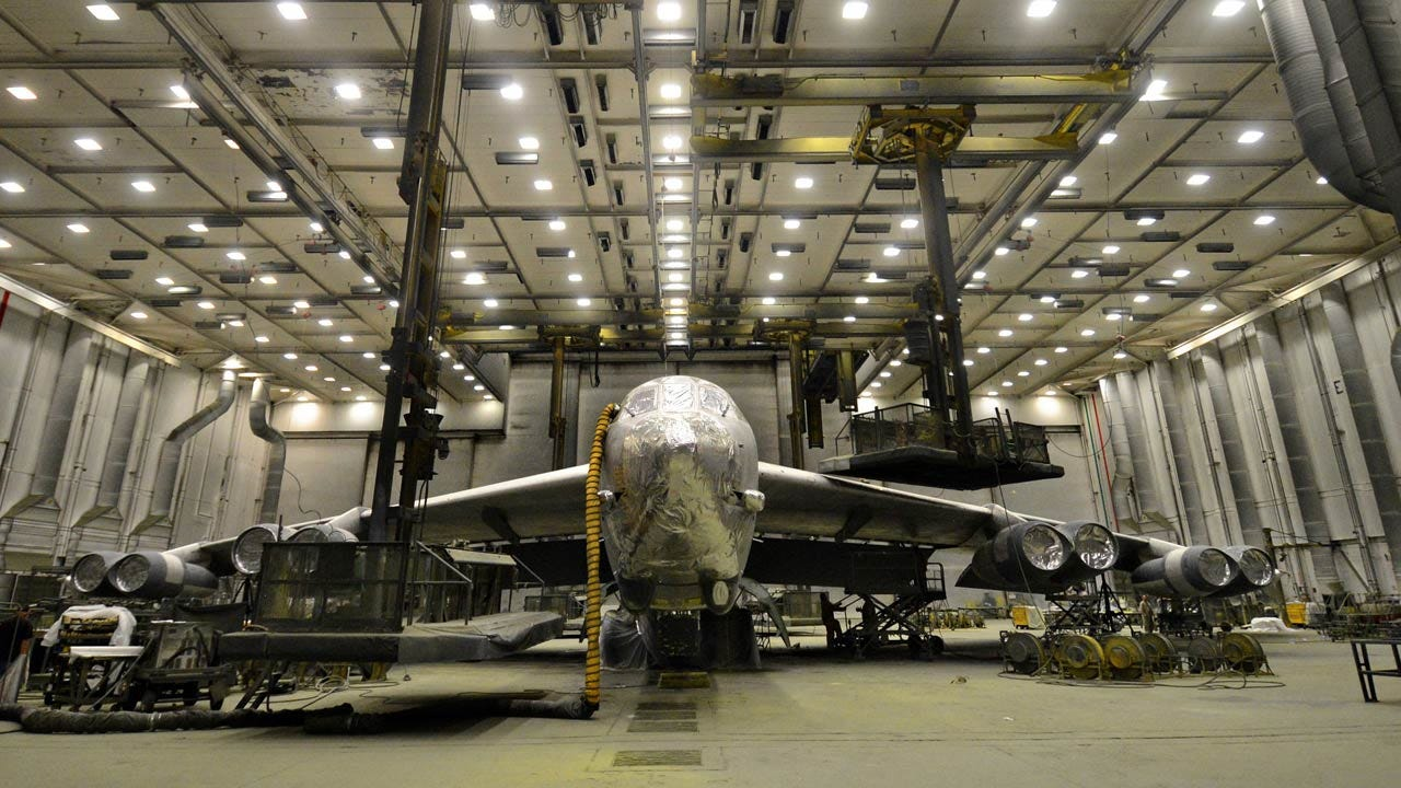 Tinker AFB Returns Historic 'Ghost Rider' B-52 To Service