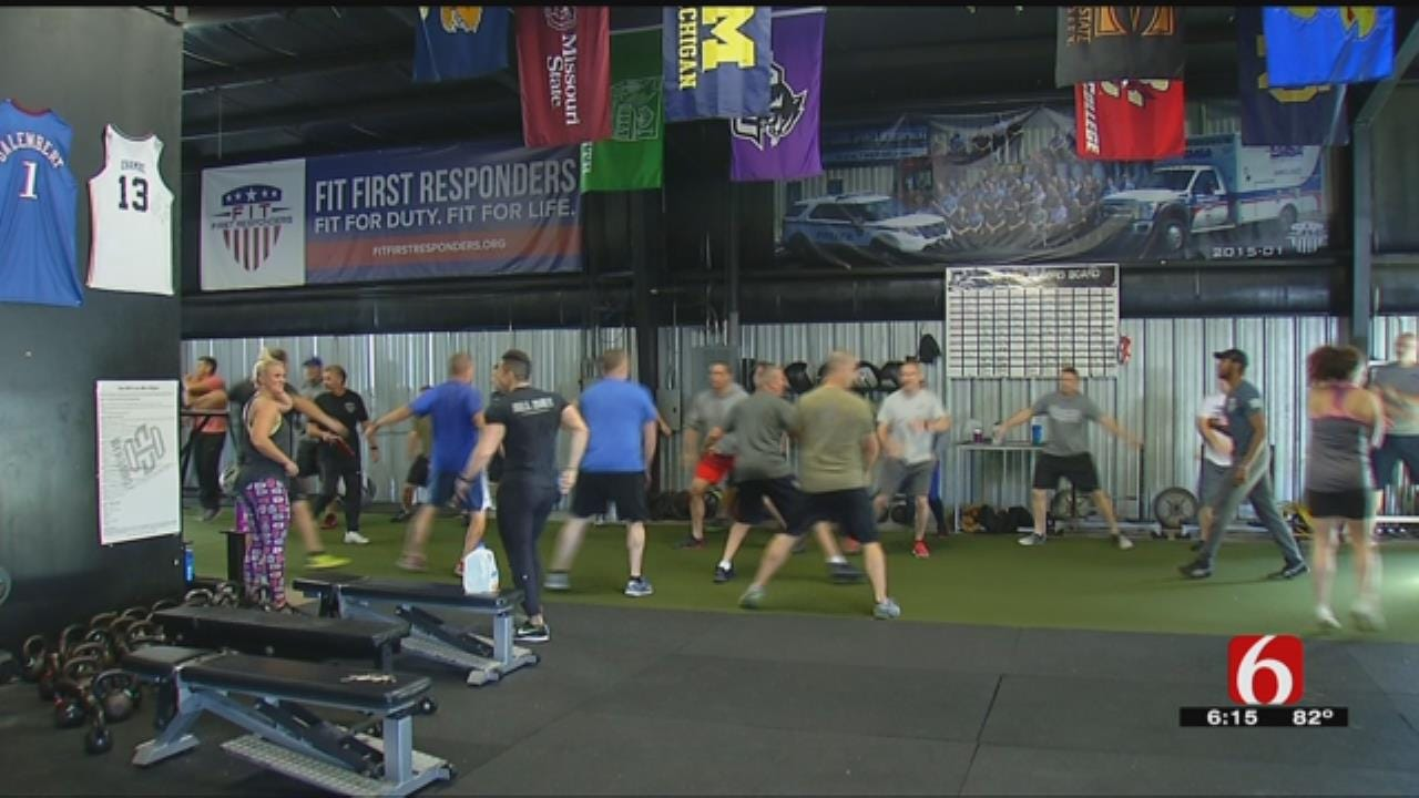 Tulsa's First Responders Get 'Fit' In 25-Week Challenge
