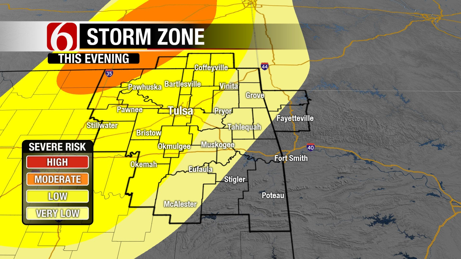 Multiple Rounds of Storms Expected This Week