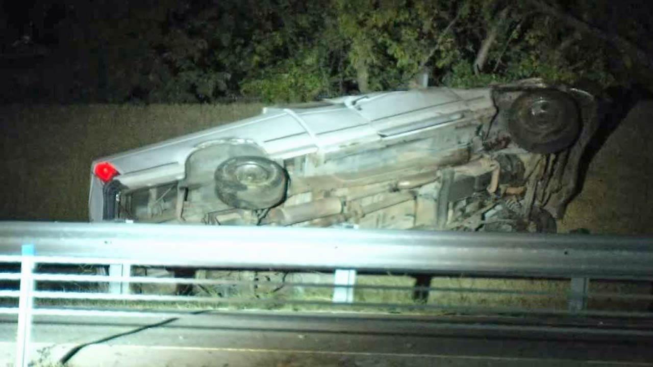 One Dead, One Arrested After Fatal Rollover Crash On Highway 75
