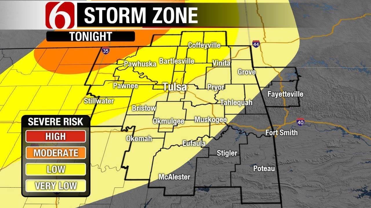 Storm Potential Increasing Across Northeast Oklahoma