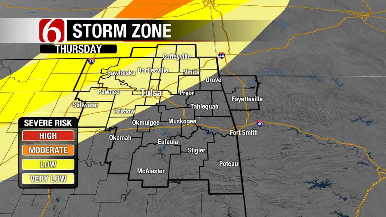 A Few Storms Moving In Before Cool Fall Weekend In Green Country
