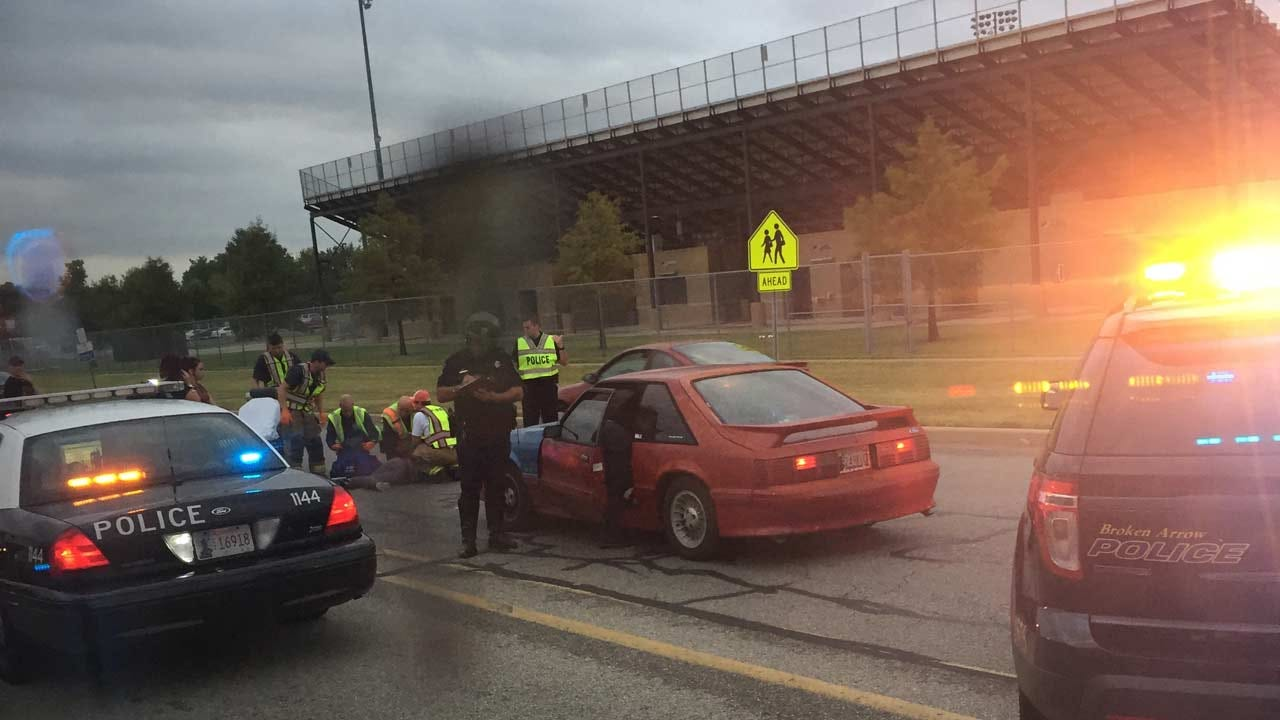 BA High School Student Struck By Vehicle, Hospitalized With Leg Injury