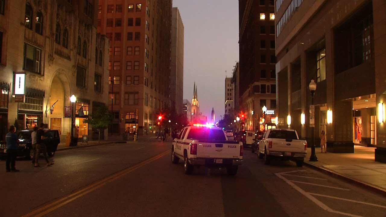 Downtown Tulsa Street Gets Hollywood Movie Set Treatment