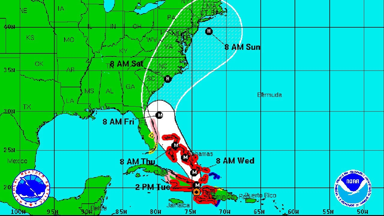 Florida, East Coast Residents Brace For Hurricane Matthew