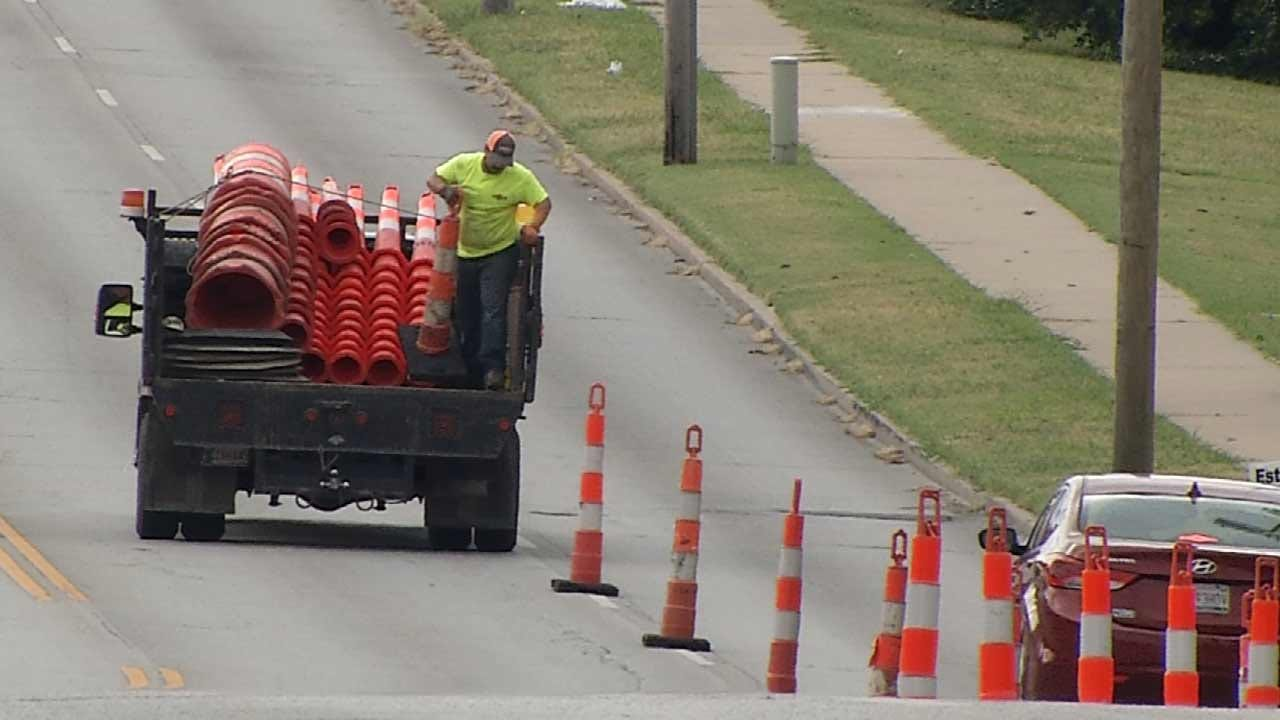 Holiday-Time Roadwork Expected To Cut Into Tulsa Business Profits