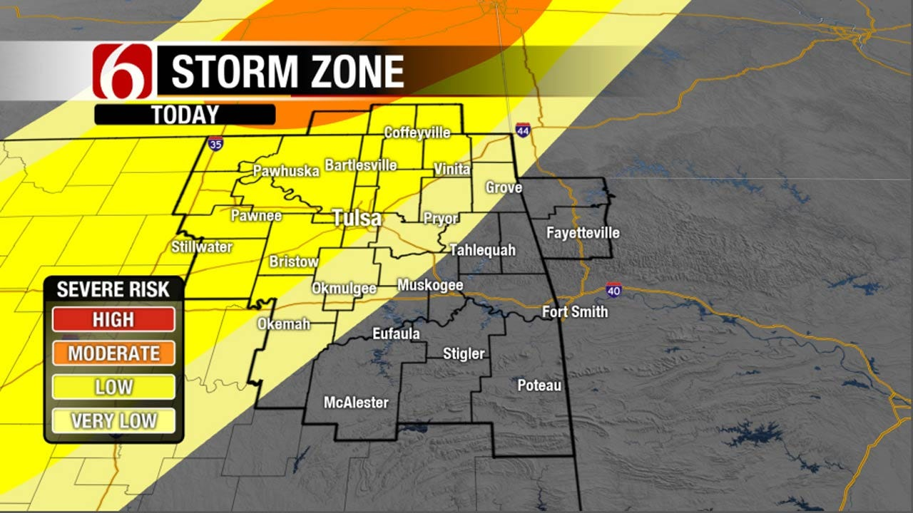 All Modes Of Severe Weather Possible In NE Oklahoma Tonight