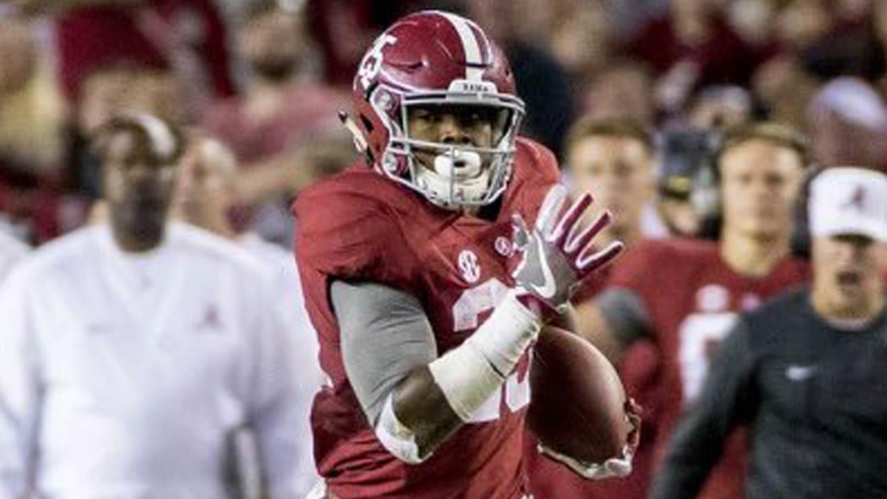 McLain's Josh Jacobs Making Early Impact At Alabama