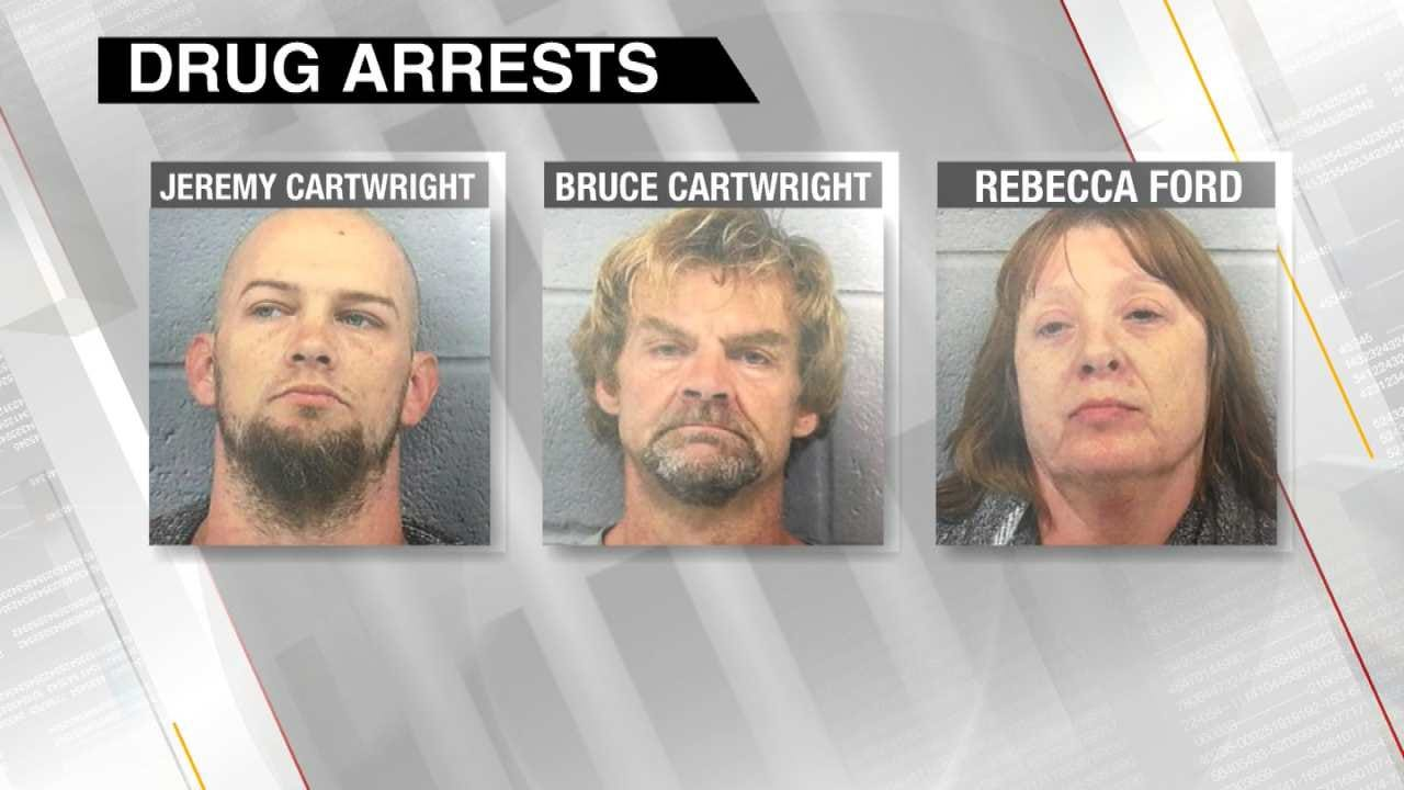 Rogers County Father And Son Arrested On Drug Charges