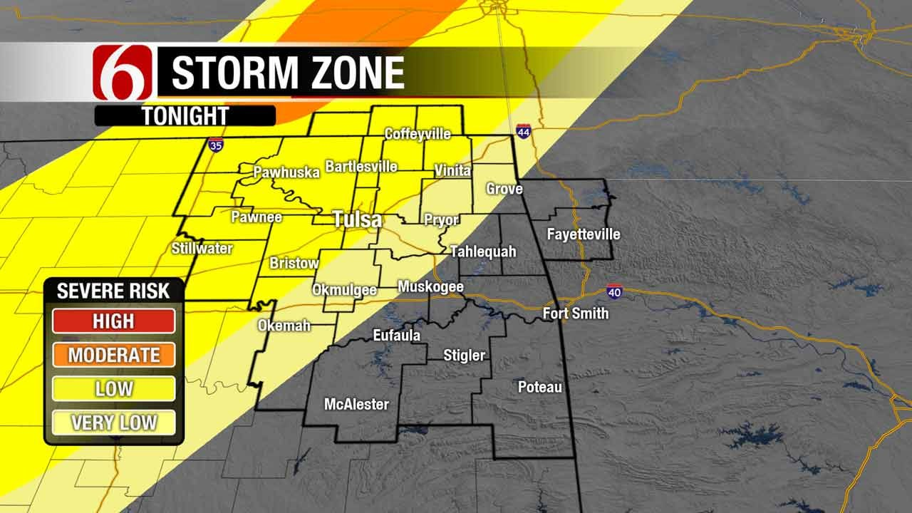 Storms, Then Return To Fall Friday For Oklahoma