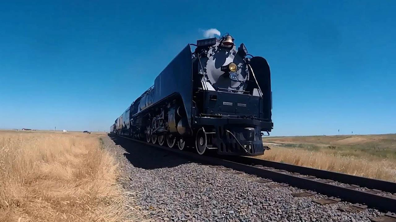 Union Pacific's No. 844 Steam Locomotive To Visit Oklahoma