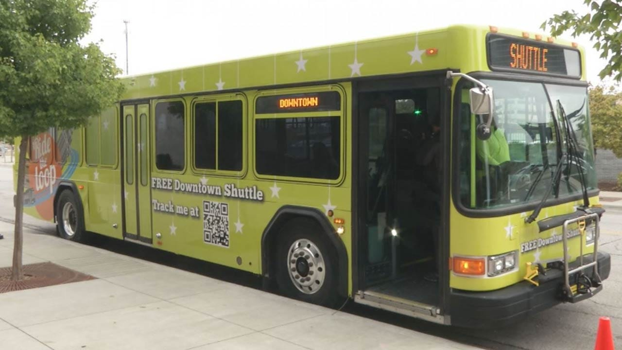Free Downtown Shuttle Gets New Bus