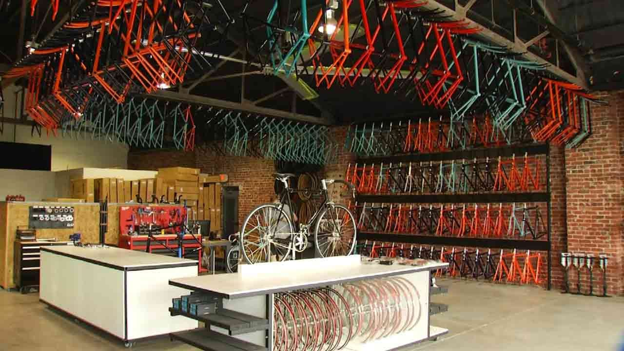 Tulsa Bicycle Shop Holds Grand Opening