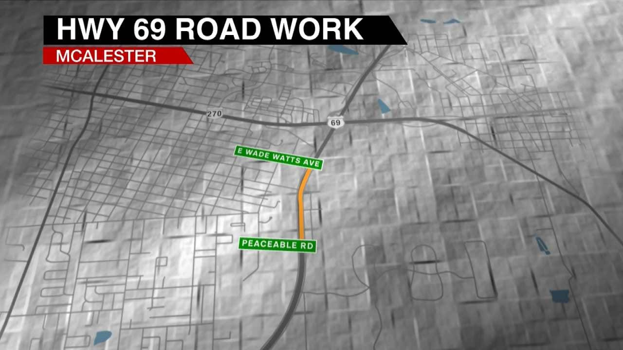 Improvements Planned For Highway 69 In McAlester