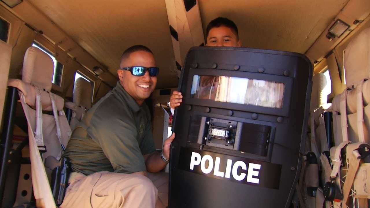 Muskogee Police Promote Positive Interaction Between Community And Officers