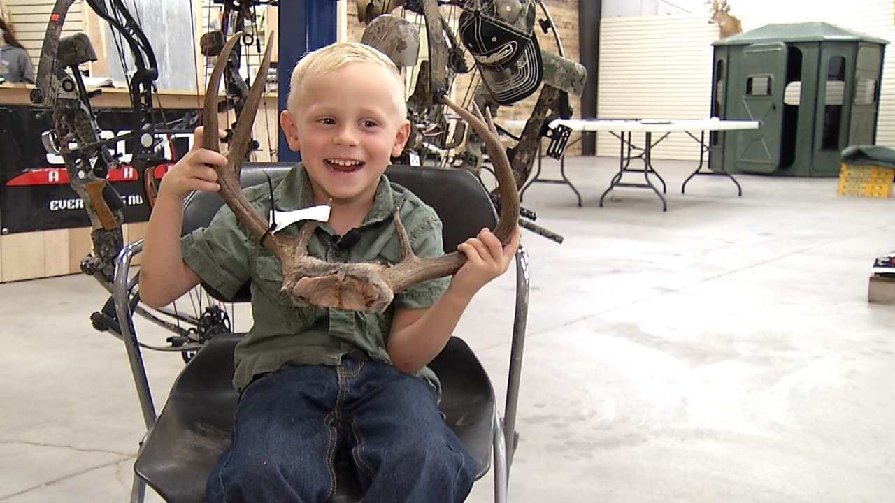 Oklahoma Four-Year-Old Showcases Hunting Skills