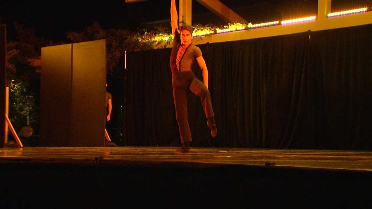Tulsa Ballet Holds Performance Outside At Guthrie Green