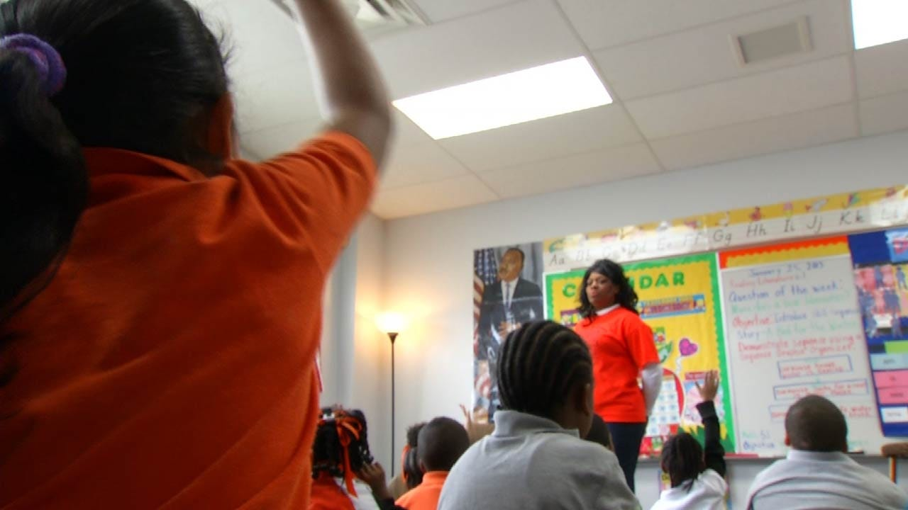 Amid Budget Crisis, OK Schools Relying On More Outside Help