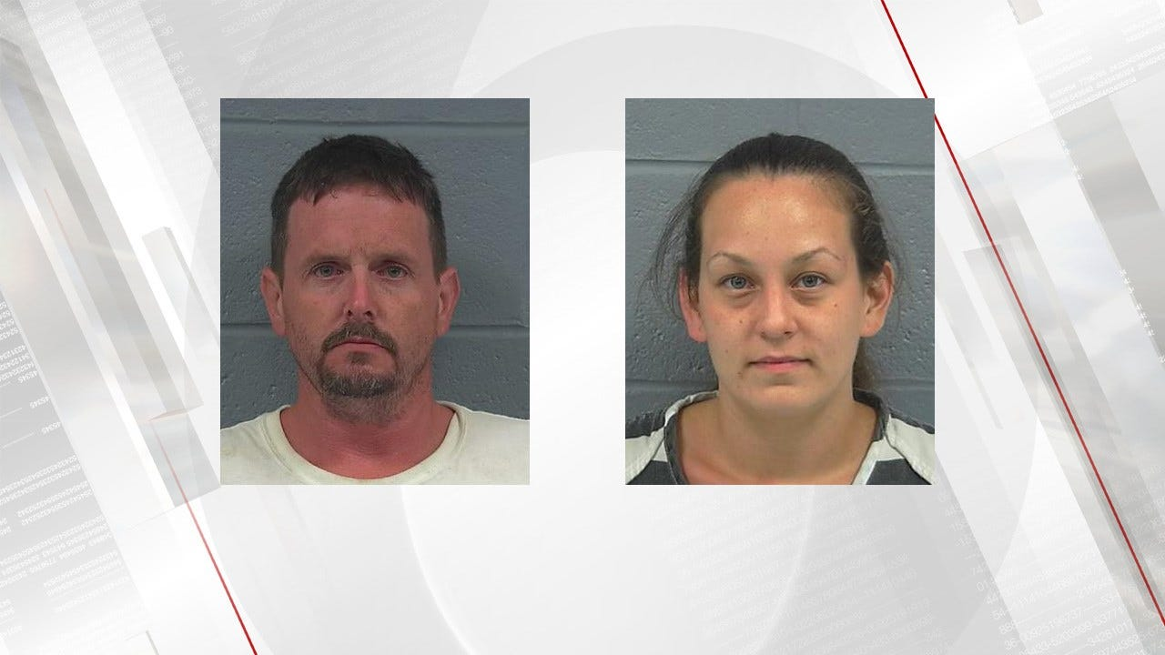 Rogers County Couple Arrested For Child Neglect