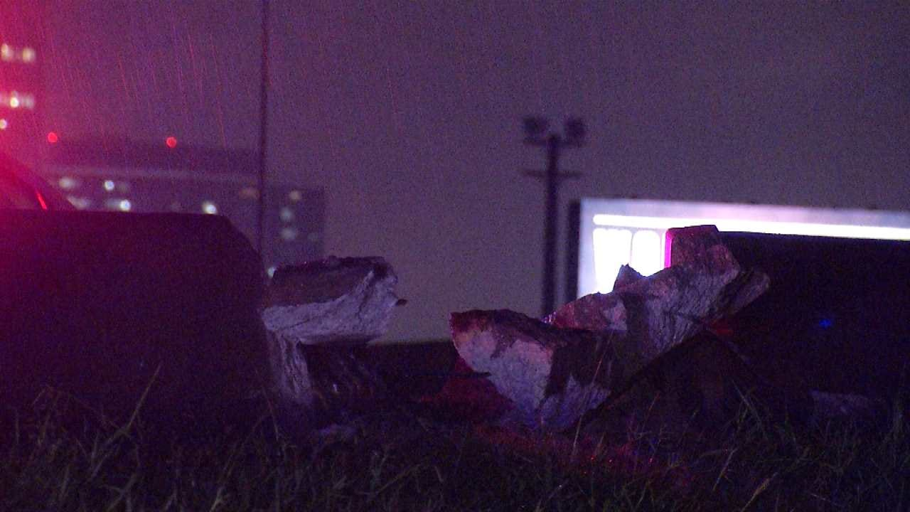 Jackknifed Semi Shuts Down Tulsa Highway