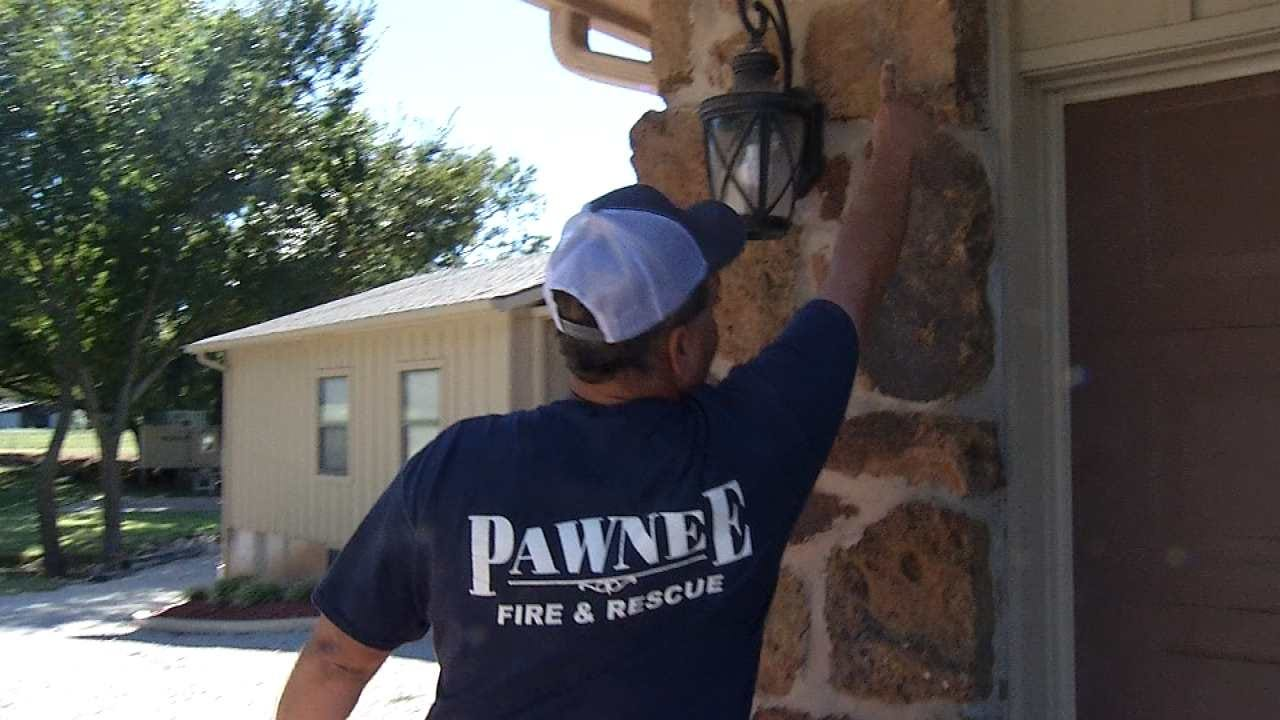 Pawnee Family Discusses Dealing With Damage After Earthquake