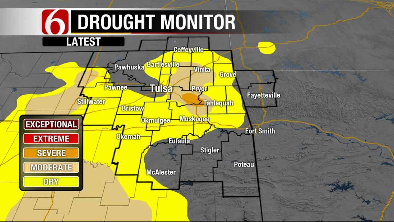 Some Parts Of Green Country Driest In State