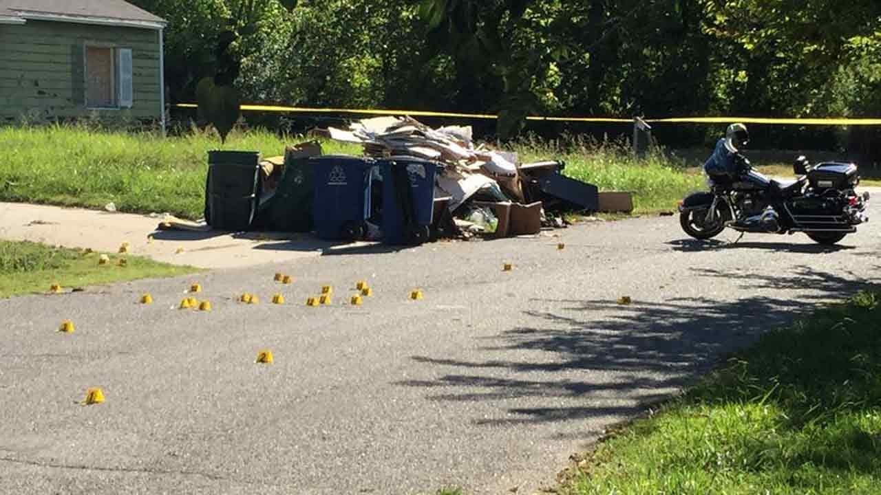 Dozens Of Gunshots Fired On Tulsa Street, Man Wounded