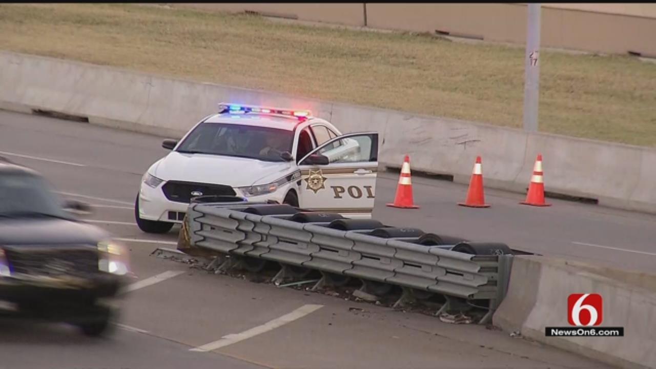 Motorcyclist Dies After Being Thrown From Tulsa Bridge