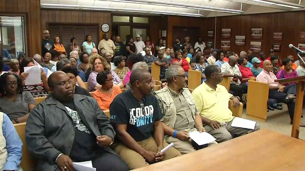 People Express Frustration Over Police Video At Muskogee City Council