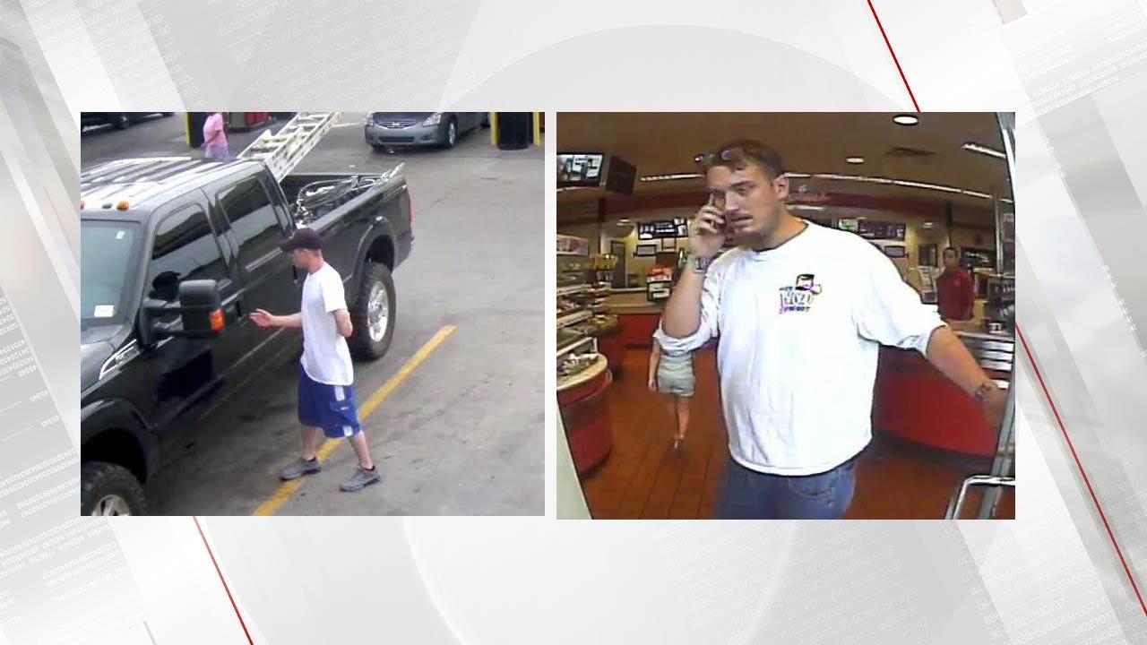 Surveillance Photos Released In Tulsa QuikTrip Truck Theft