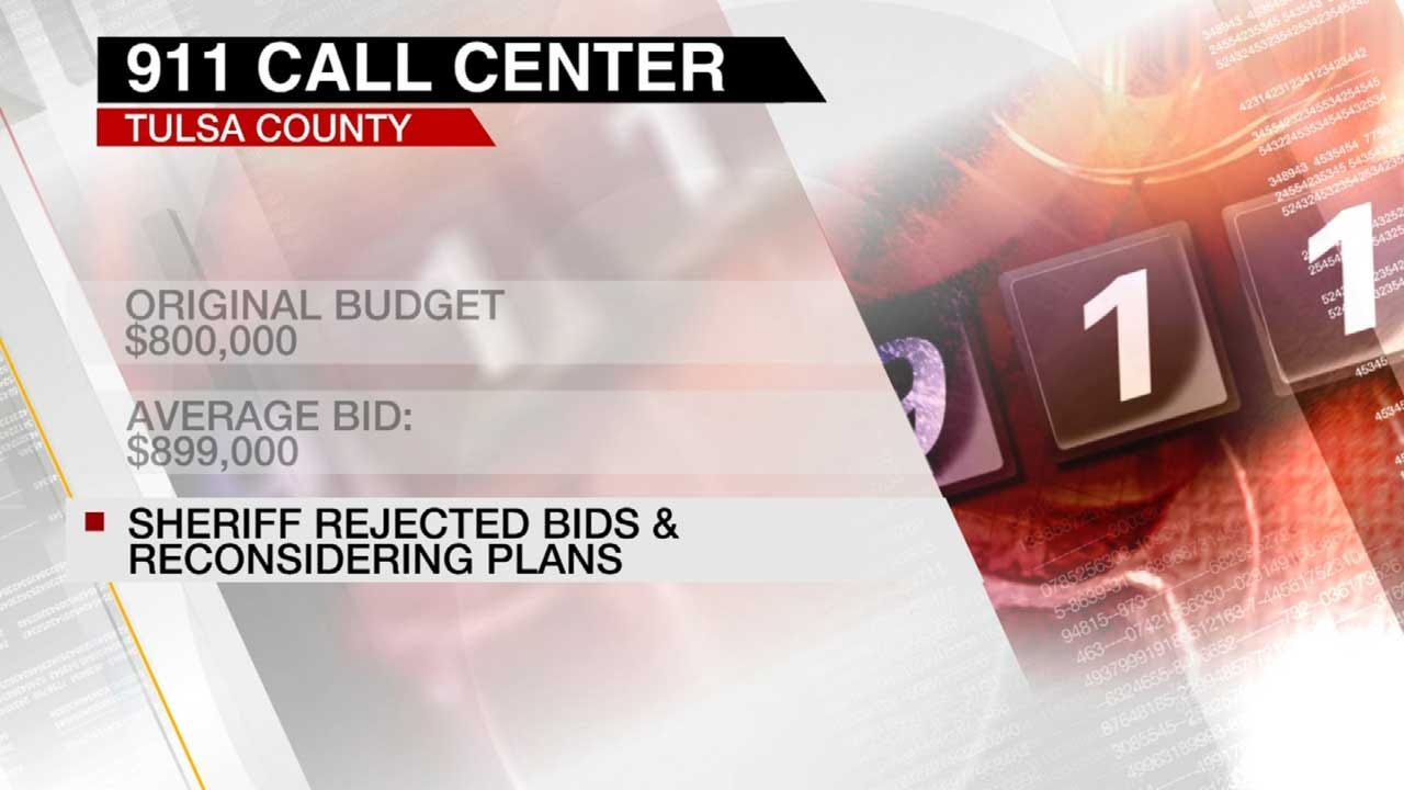 Tulsa County Reviewing Construction Bids For 911 Center