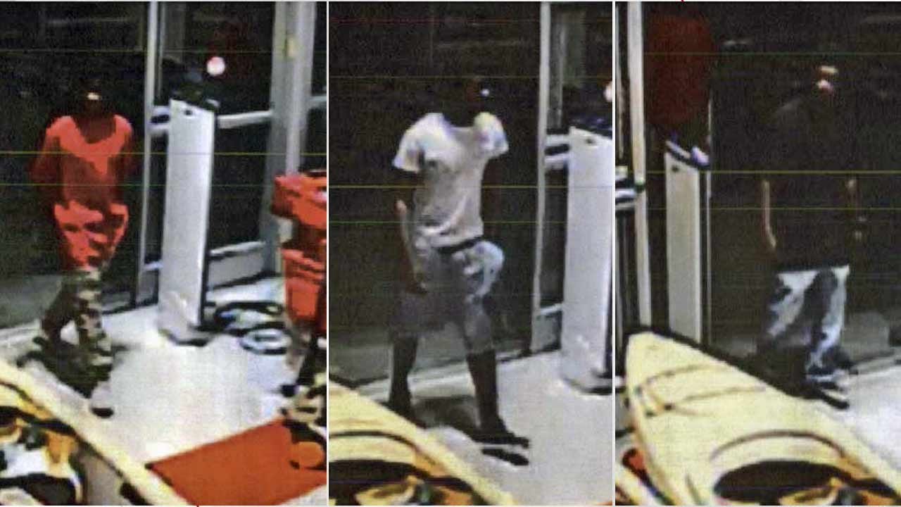 Broken Arrow Police Look For 3 Robbers