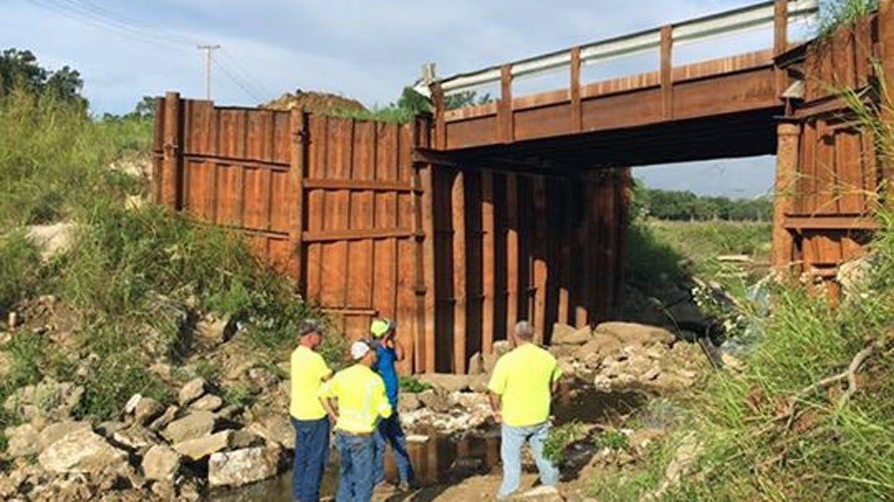 Creek County Commissioner Closes Bridge As Safety Precaution
