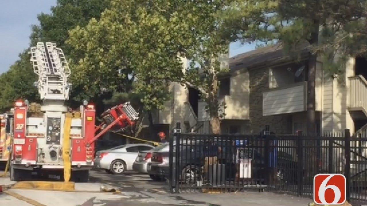 Quick Response Ends Tulsa Apartment Fire