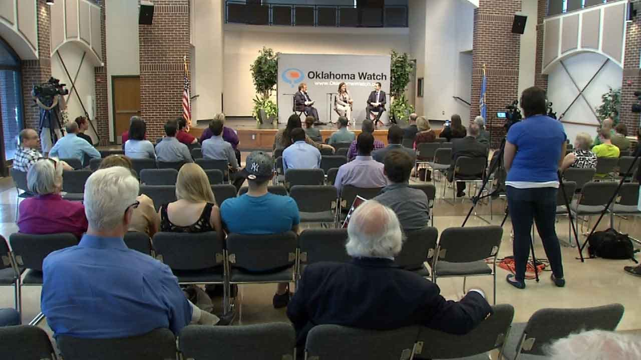 Tulsa Voters Weigh Teacher Pay Raises Over Higher Sales Tax At Forum