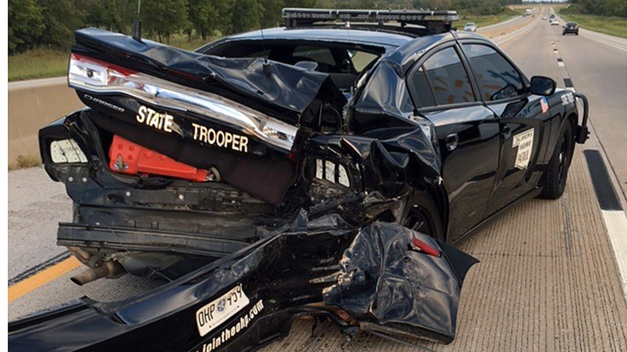 OHP Vehicle Struck By SUV On Muskogee Turnpike