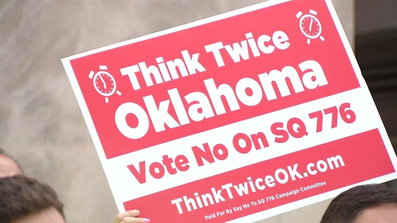'Think Twice' Group Opposes Codifying Death Penalty Into OK Constitution
